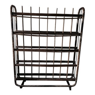 1930s French Bakery Industrial Rack For Sale