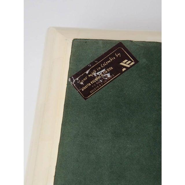 Large Alberto Escobar Tessellated Bone Box, Circa 1980 For Sale - Image 10 of 11