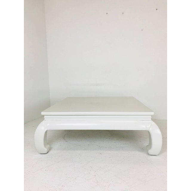 Mid 20th Century Lacquered Ming Style Coffee Table For Sale - Image 5 of 7