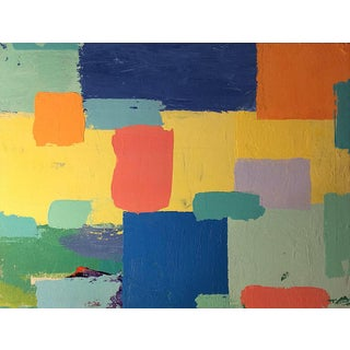 Stephen Stilgenbauer Abstract Colorfield Painting For Sale
