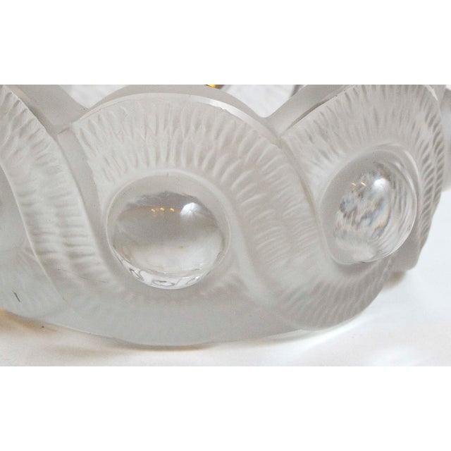 "French Mid 20th Century Lalique ""gao"" Ashtray For Sale - Image 3 of 4"