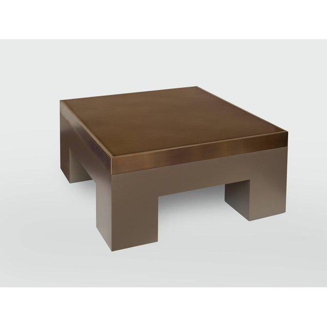 Harry Clark Lava Cuboid Coffee Table by Harry Clark For Sale - Image 4 of 4