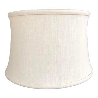 Custom Cream Linen Lamp Shade