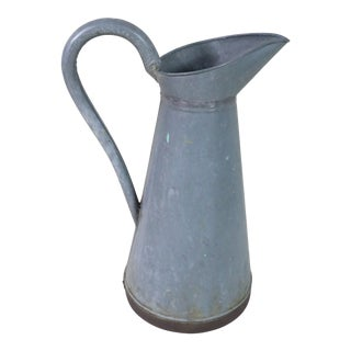 Late 19th Century Traditional French Body Pitcher For Sale