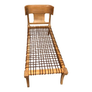 Mid-Century Rare t.h. Robsjohn-Gibbings Klini Lounge for Saridis of Athens For Sale