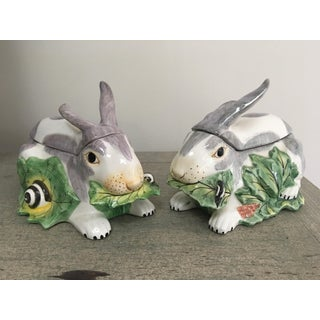 Mottahedeh Chelsea Rabbit Tureens - a Pair Preview
