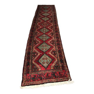 Late 20th Century Vintage Persian Rug Runner - 2′9″ × 2′9″ For Sale