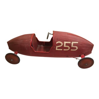 1950's Vintage Soap Box Derby Car