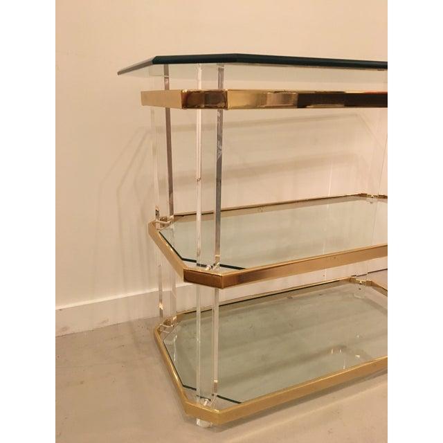 Vintage three tier table - Image 3 of 8