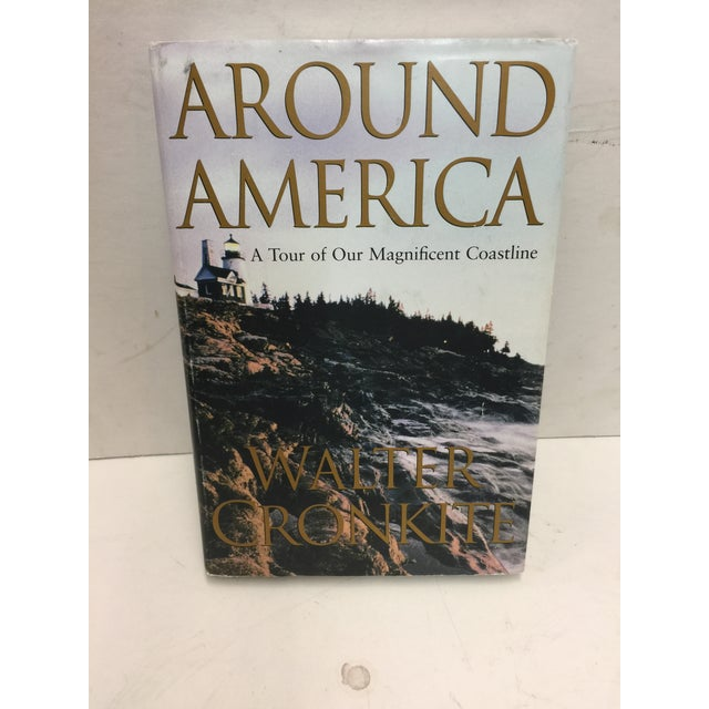 Country Around America Tour of Our Magnificent Coastline Signed Walter Cronkite For Sale - Image 3 of 3
