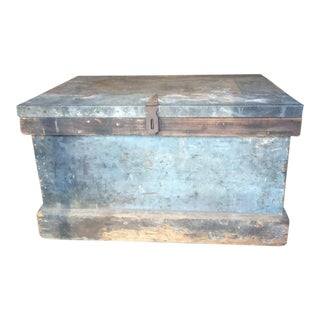Carpenter's Toolbox circa 1920s For Sale