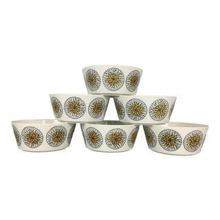 Vintage Arabia Finland Bowls - Set of 6 For Sale
