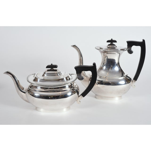 Early 20th Century Vintage English Sheffield Sterling Silver Tea / Coffee Service - 5 Pc. Set For Sale - Image 5 of 13