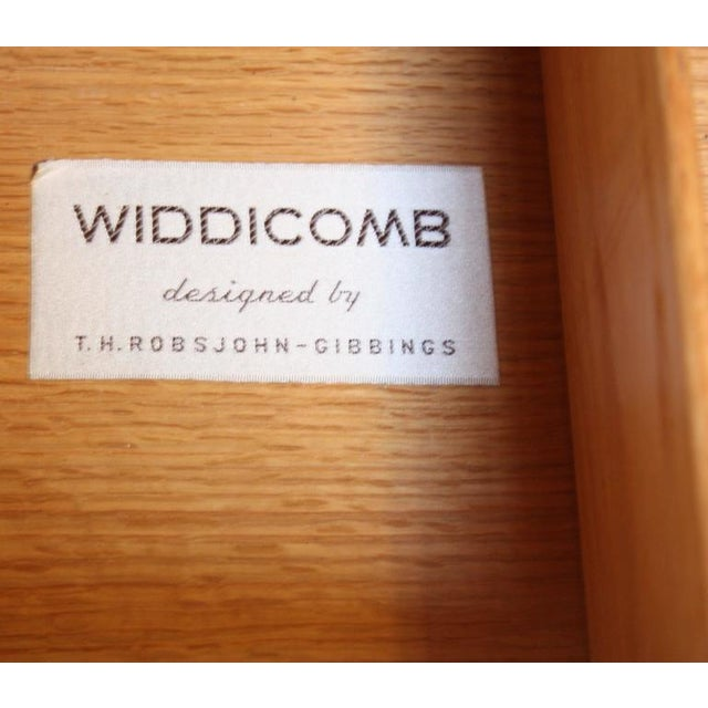 T.H. Robsjohn-Gibbings for Widdicomb Walnut Chest of Drawers - Image 6 of 9
