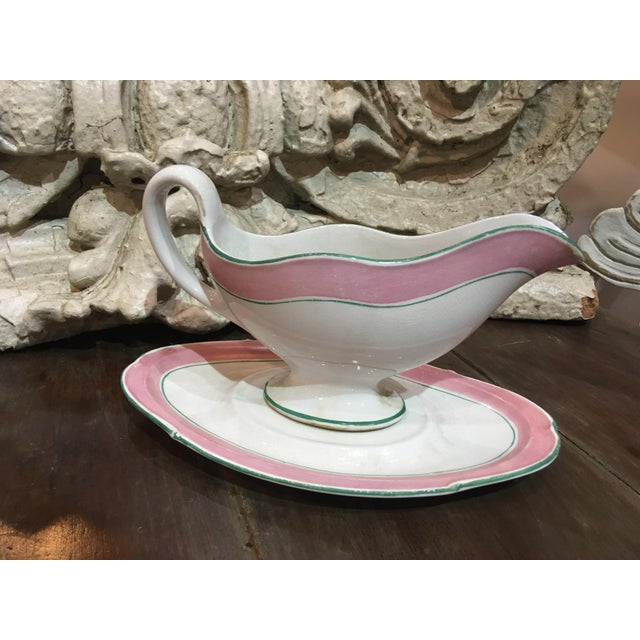 Palm Beach Regency Style Gravy Boat For Sale - Image 4 of 7
