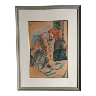 1930s Vintage Rubenseque French Painting For Sale