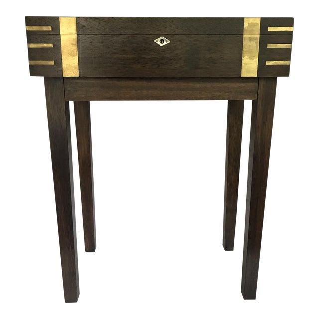 Petite Storage Side Table - Image 1 of 7
