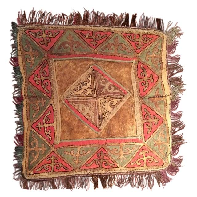 Vintage Turkish Leather Textile - Image 1 of 3