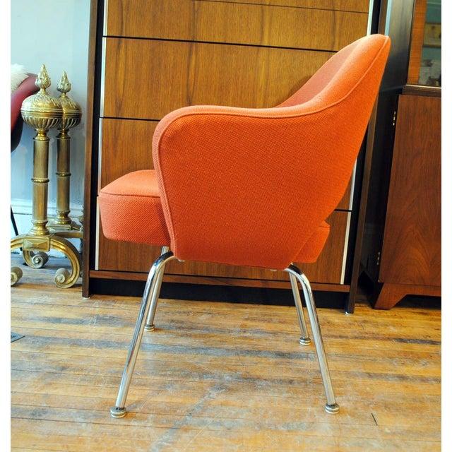Mid Century Executive Armchair by Eero Saarinen for Knoll-1960's - Image 5 of 12