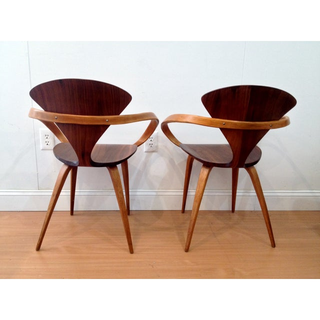 Norman Cherner Pretzel Chairs - A Pair - Image 3 of 7
