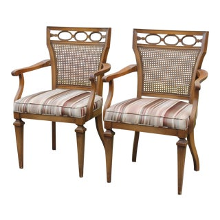 Neoclassical Style Occasional Chairs - a Pair For Sale