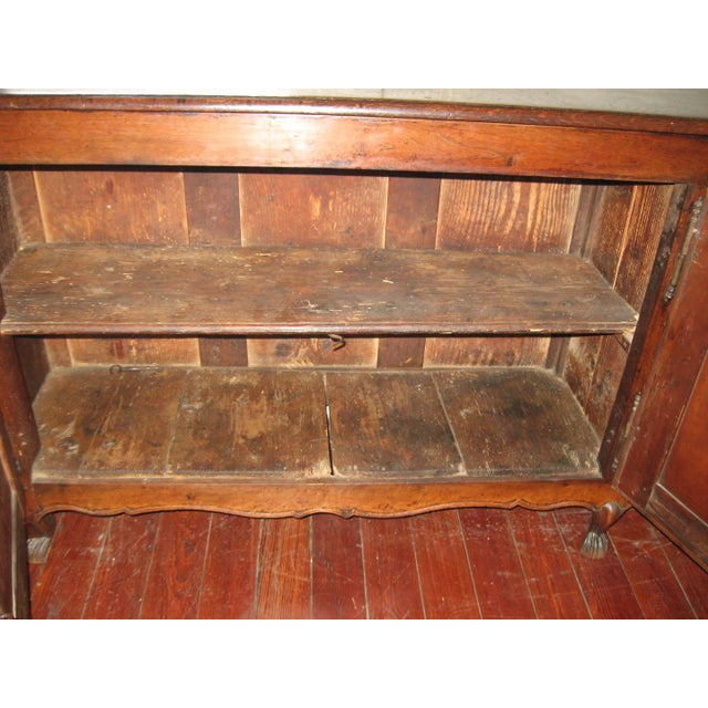 French Antique Sideboard in Walnut, 18th Century For Sale - Image 10 of 12