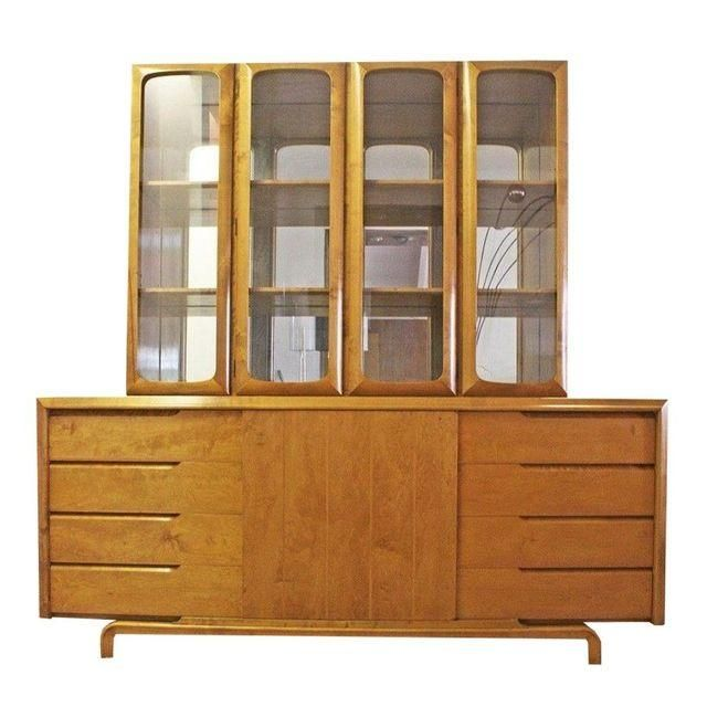 Mid-Century Rare Edmund Spence Bar or Wall Unit - Image 1 of 5