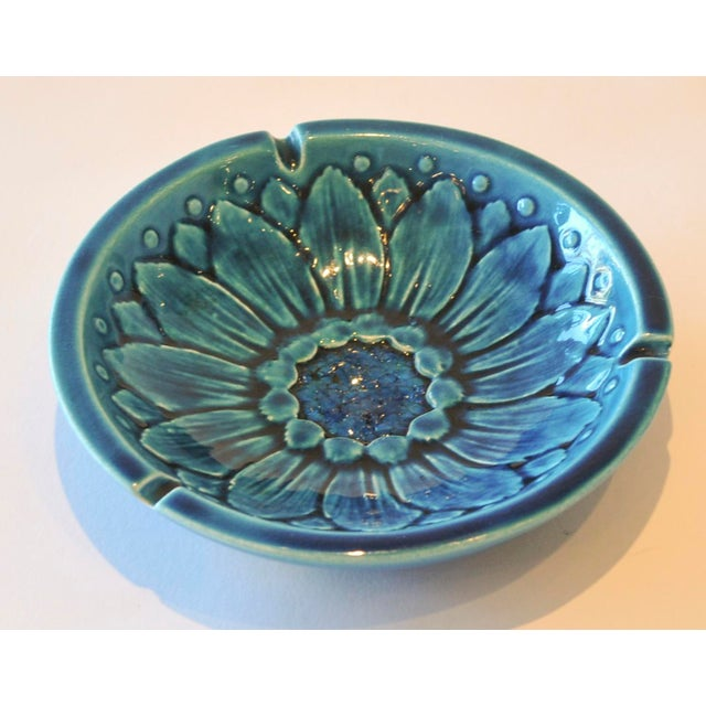 Mid-Century Freeman McFarlin Floral Bowl - Image 5 of 7