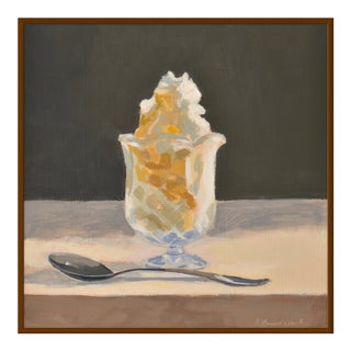 "Medium ""Butterscotch Sundae"" Print by Anne Carrozza Remick, 38"" X 38"""
