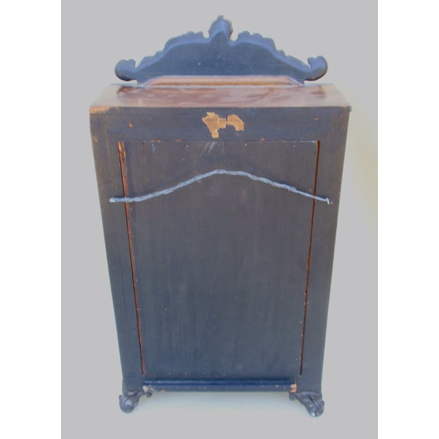 Ebony Alphonse Giroux French Curio Cabinet For Sale - Image 7 of 8