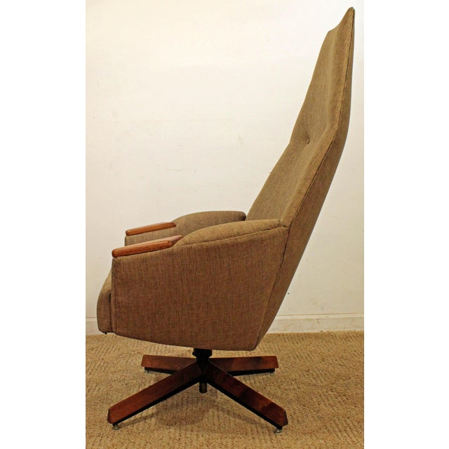 Mid 20th Century Mid-Century Modern Adrian Pearsall Lounge Chair & Ottoman 2174c For Sale - Image 5 of 10