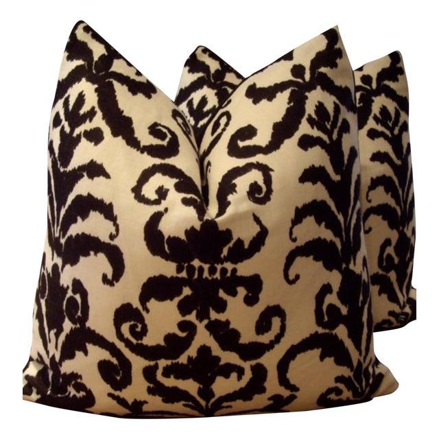 Ralph Lauren Finsbury Damask Pillows - A Pair - Image 1 of 3