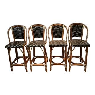 French Tabouret Counter Stools - Set of 4