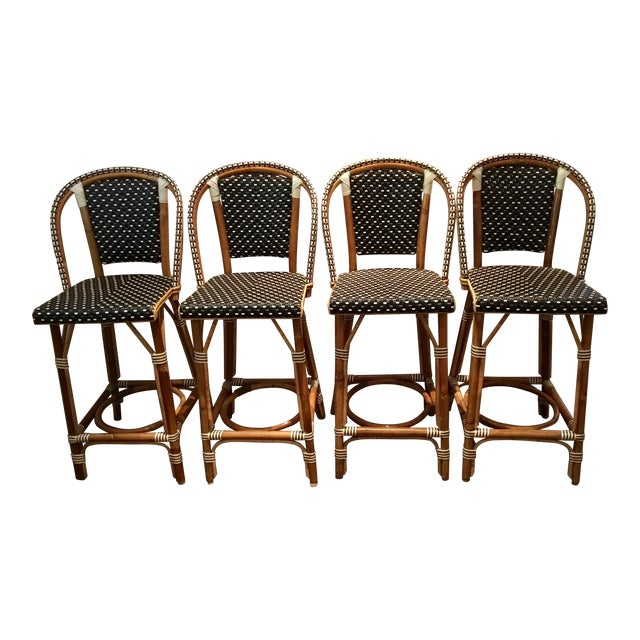 French Tabouret Counter Stools - Set of 4 - Image 1 of 5