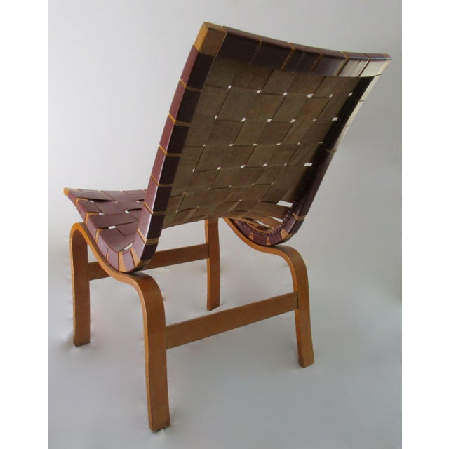 """Final Markdown: 1940-49 Vintage Bruno Mathsson Mid-Century Modern Scandinavian """"Eva"""" Easy Chairs - a Pair For Sale In Miami - Image 6 of 13"""