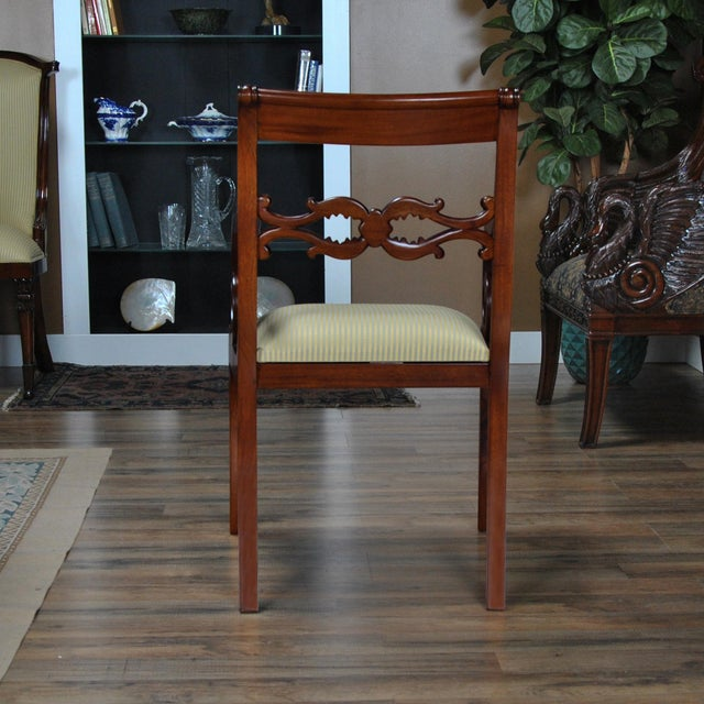 Brown Philadelphia Empire Arm Chair - a Pair For Sale - Image 8 of 13