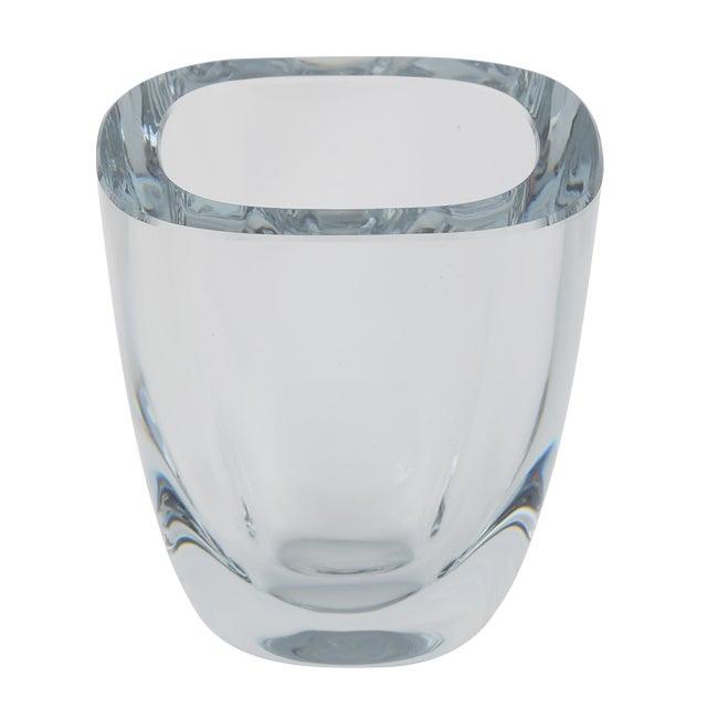 1950's VINTAGE STROMBERGSHYTTAN GLASS VASE For Sale