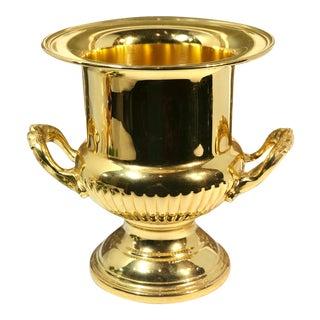 Vintage Victorian Leonard Gold Ice Bucket / Champagne Holder For Sale