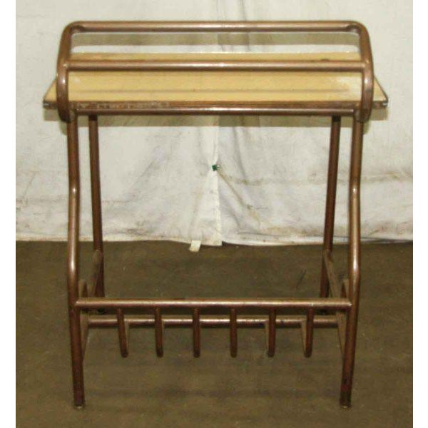 Antique Desk With Storage For Sale - Image 4 of 4