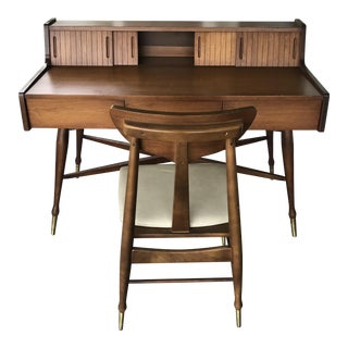 Mainline by Hooker Mid-Century Desk and Chair