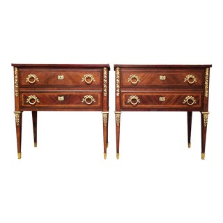 19th Century Louis XVI Style Side Tables - a Pair For Sale