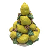 Image of Italian Ceramic Center Piece Lemons For Sale