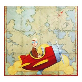 """Scarlett Battalions"" Original Artwork by Fred Calleri For Sale"
