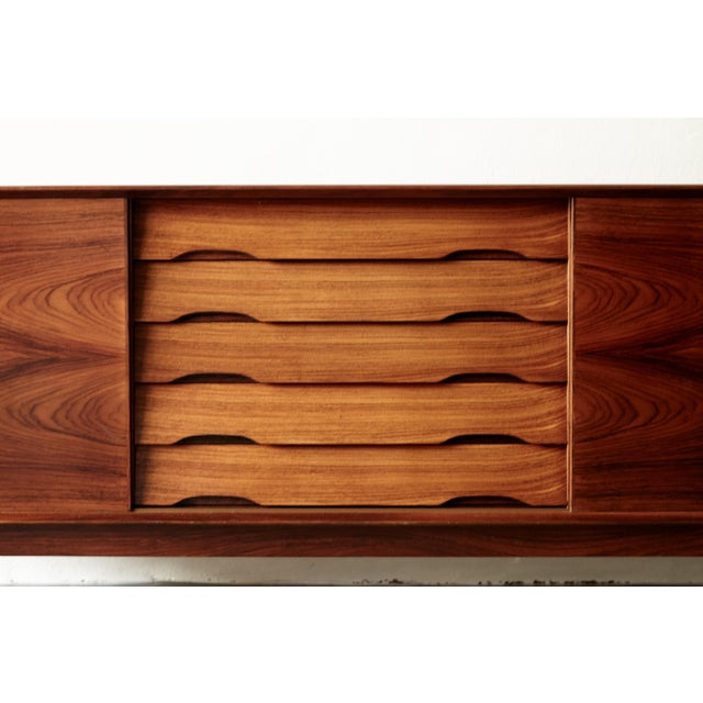 Rosewood Rosewood Midcentury No. 65 Sideboard by Skovby Mobler, Denmark, 1960s For Sale - Image 7 of 11