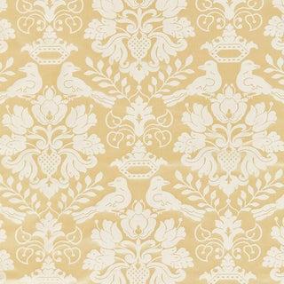 Scalamandre Love Bird Fabric in Beige For Sale