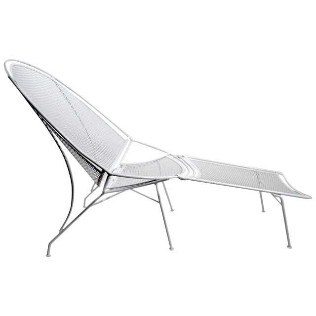 Tempestini for Salterini High Back Lounge With Footrest For Sale