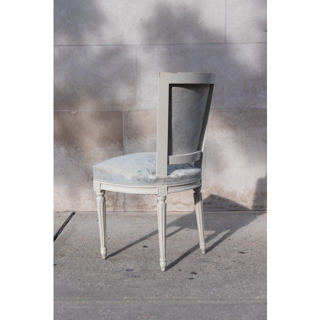 1910s Vintage French Louis XVI Side Chairs - Set of 4 For Sale - Image 11 of 12