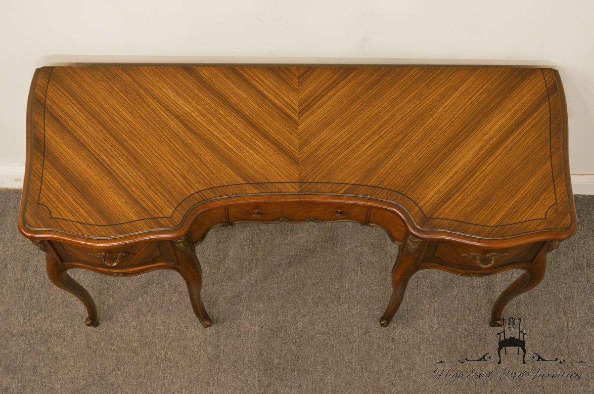 1950s 1950s Vintage Bethlehem Furniture Mahogany Louis XVI Style Vanity For  Sale   Image 5 Of