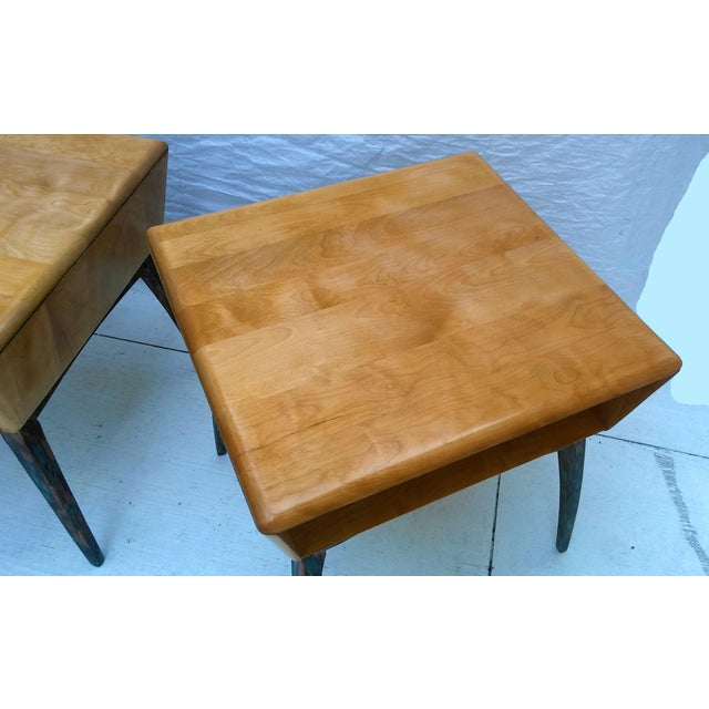 Heywood-Wakefield Side Tables - A Pair - Image 6 of 10