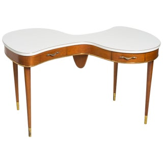 1940s French Organic Shaped Desk For Sale